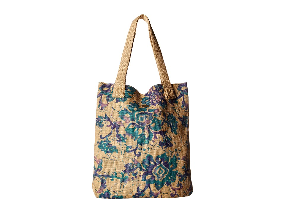 Roxy Another Spot Beach Bag Heritage Honolua Sea Spray Tote Handbags