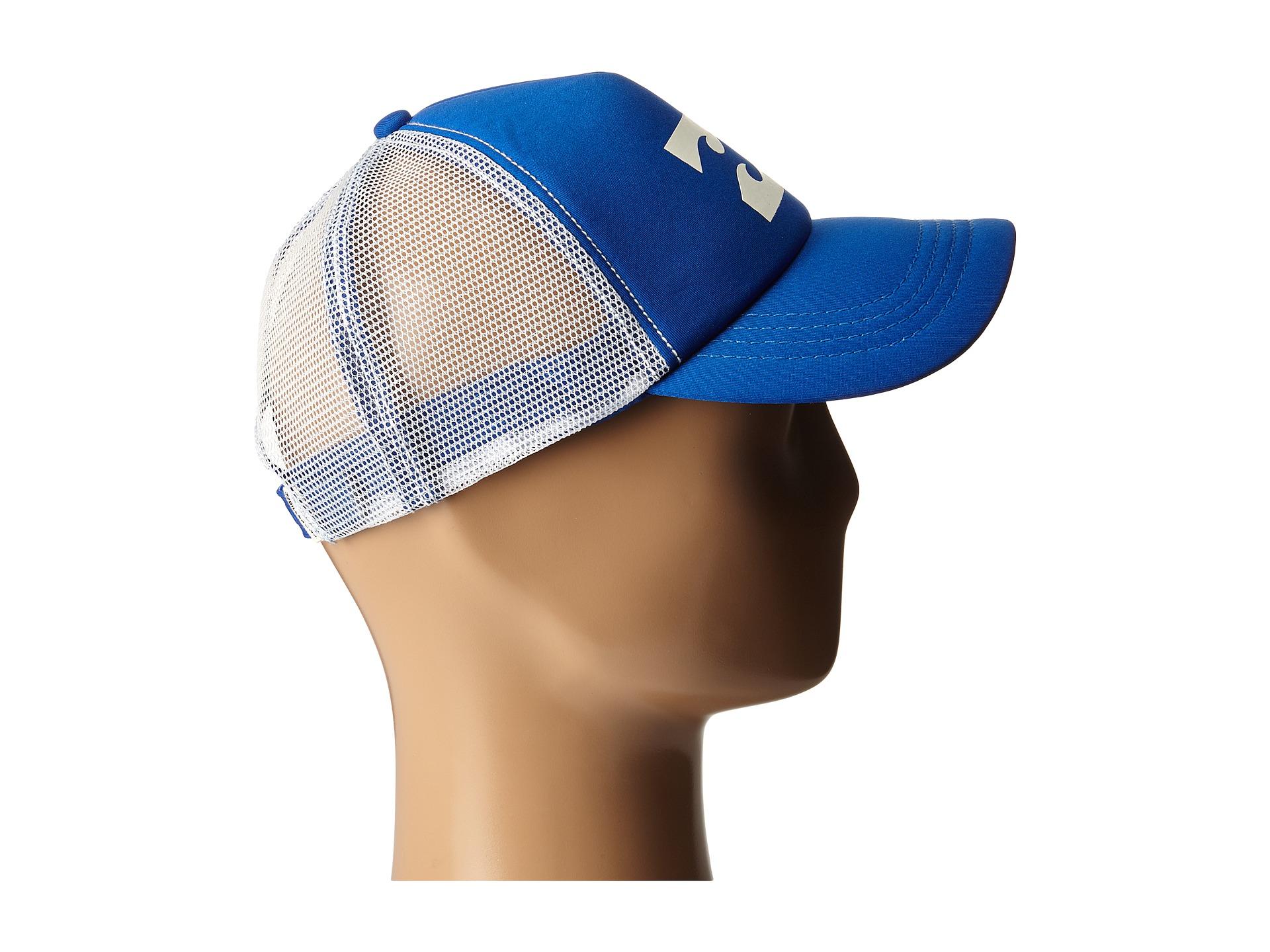 Billabong Billabong Trucker Hat Sapphire Blue Zappos Com