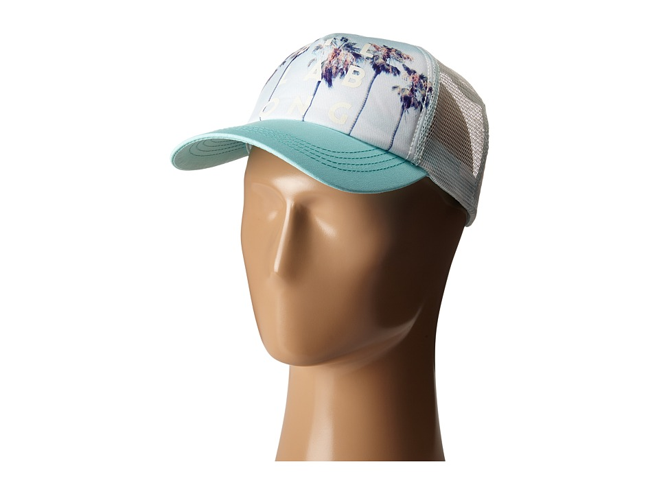 Billabong Take Me There Trucker Hat Clear Sky Caps