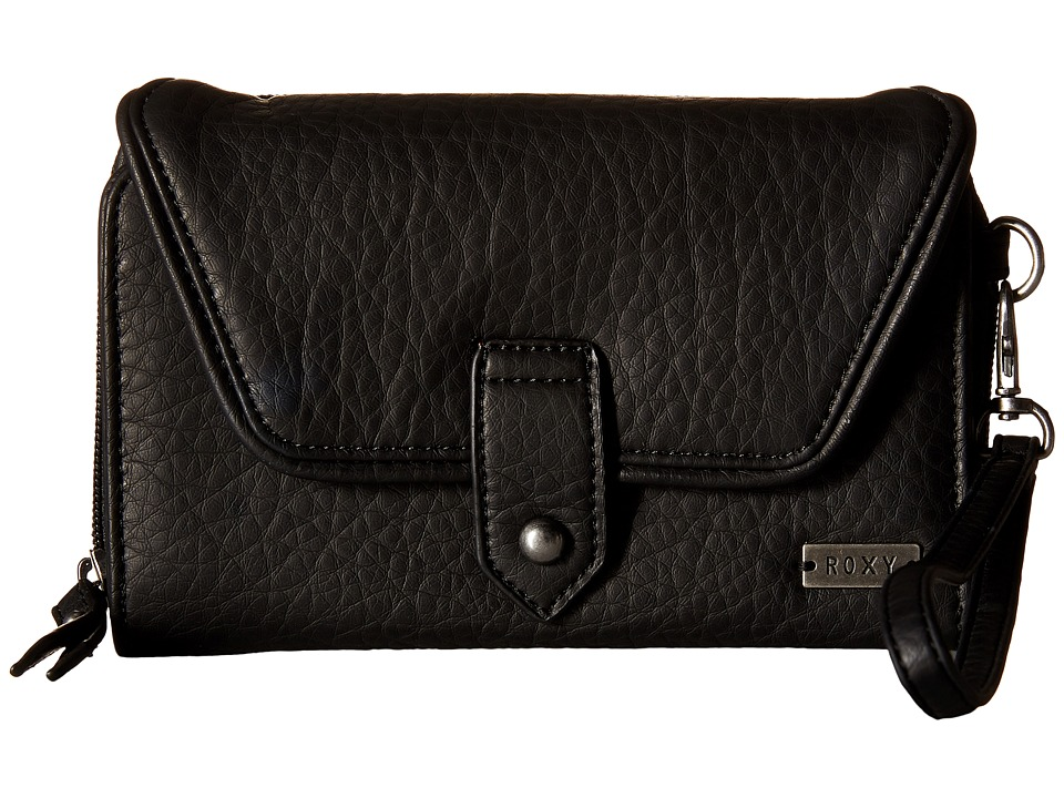 Roxy - Lisboa Secret Wallet (True Black) Wallet Handbags