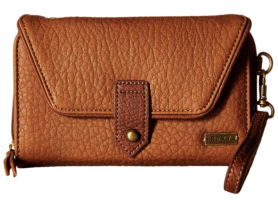 Roxy - Lisboa Secret Wallet (Camel) Wallet Handbags