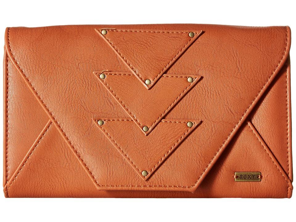 Roxy - Mosaic Dream Wallet (Camel) Wallet Handbags