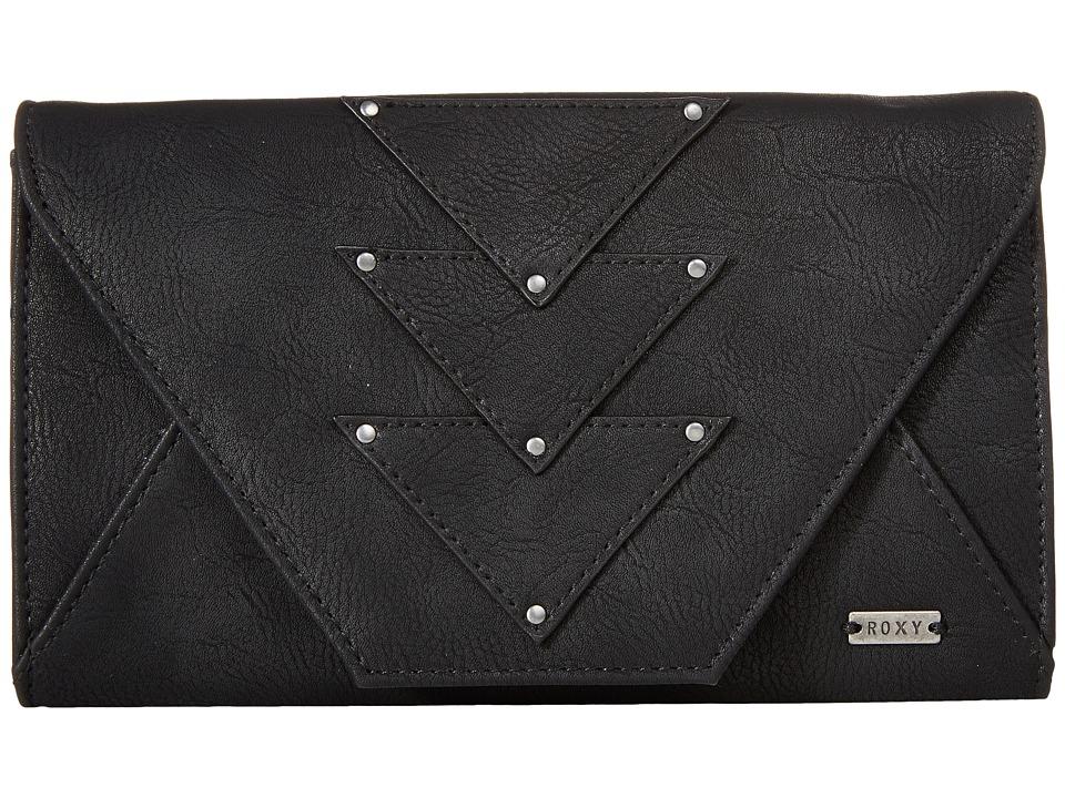 Roxy - Mosaic Dream Wallet (True Black) Wallet Handbags
