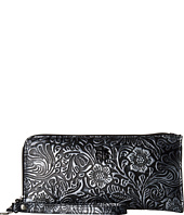 STS Ranchwear - STS Floral Embossed Clutch/Wallet