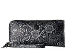 STS Ranchwear STS Floral Embossed Clutch/Wallet (Black Floral)