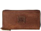 STS Ranchwear The Baroness Bi-Fold Zip-Wallet (Brown)