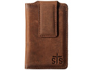 STS Ranchwear The Foreman Money Clip (Brown Leather)