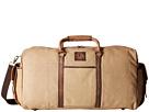 STS Ranchwear The Foreman Duffel Bag (Light Khaki Canvas/Leather)