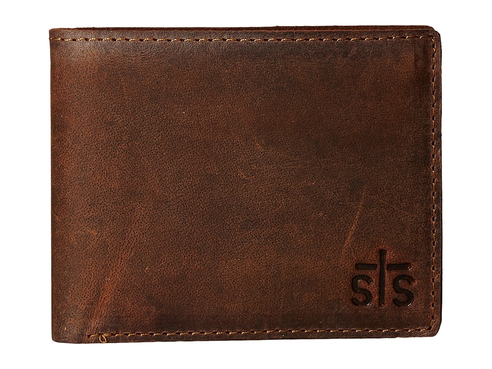 STS Ranchwear - The Foreman Bi-Fold Wallet (Brown Leather) Bi-fold Wallet