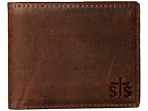 STS Ranchwear The Foreman Bi-Fold Wallet (Brown Leather)
