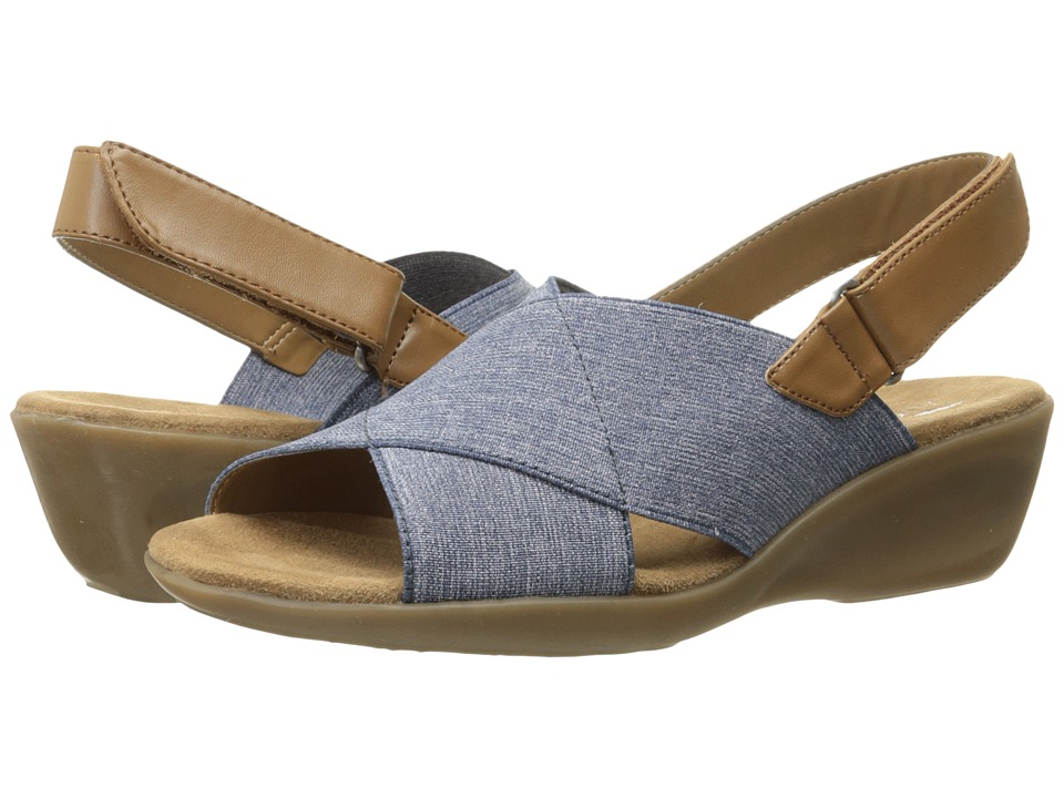 Aerosoles Badlands Chambray Blue Comb Womens Shoes