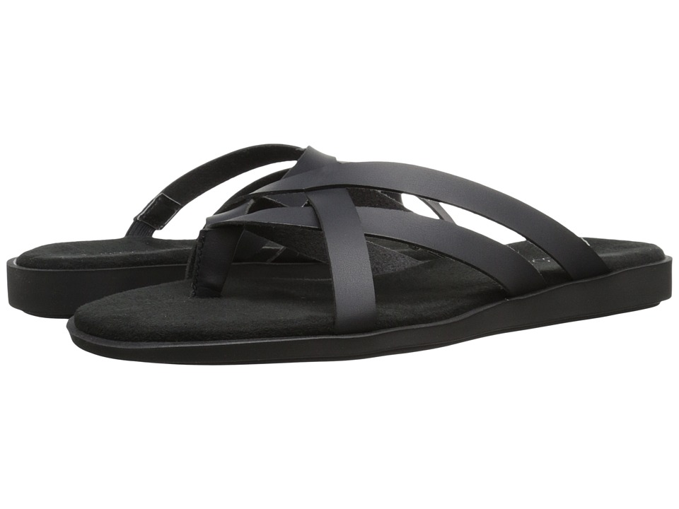 Aerosoles Asteroid Black Womens Slide Shoes