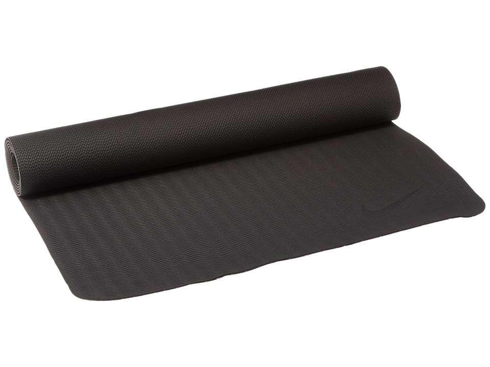 Nike - Fundamental Yoga Mat 3mm (Anthracite/Light Crimson) Athletic Sports Equipment