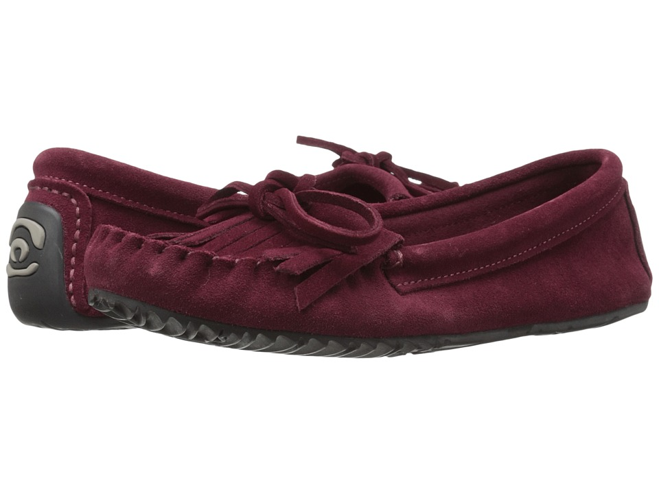 Manitobah Mukluks Sunshine Moccasin Rhubarb Womens Moccasin Shoes