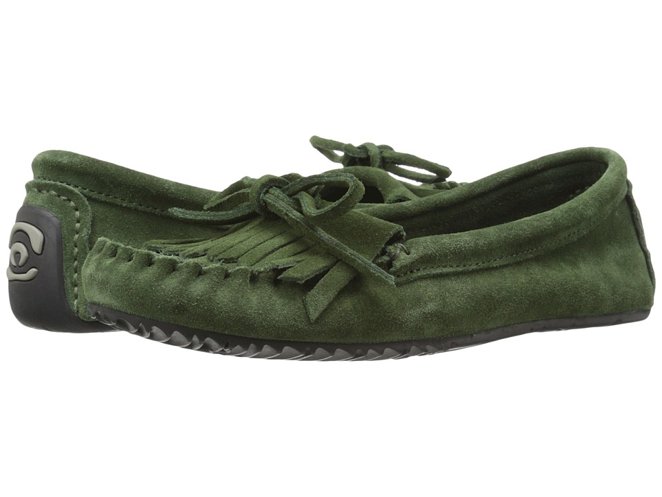 Manitobah Mukluks Sunshine Moccasin Moss Womens Moccasin Shoes
