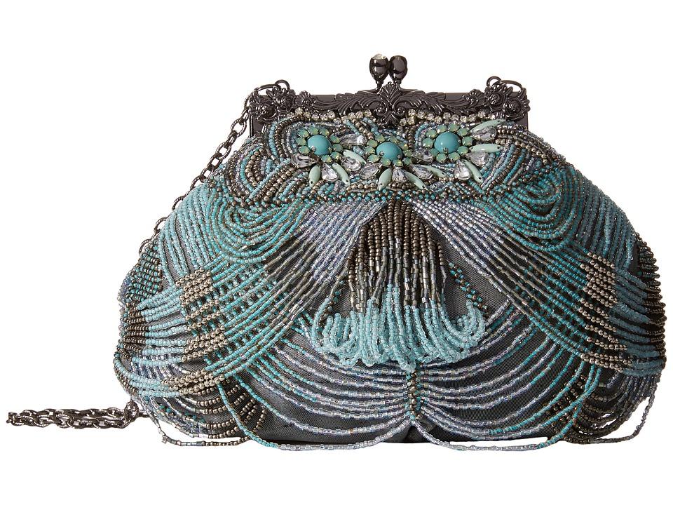 Mary Frances - Marie Antoinette Mini (Blue) Cross Body Handbags