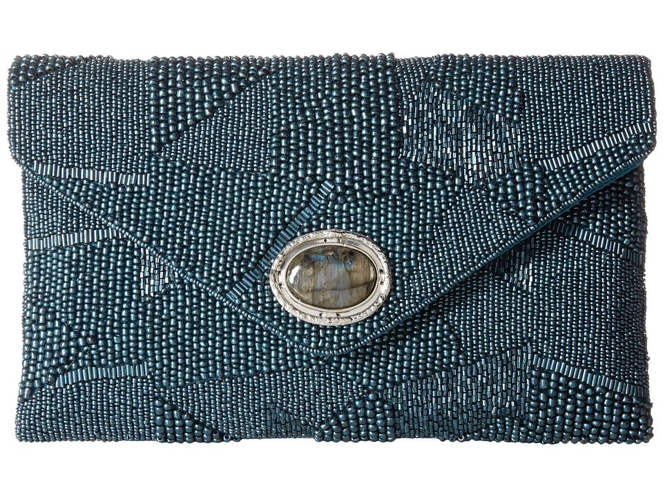 Mary Frances - Shimmer (Blue Shimmer) Handbags