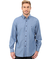 Nautica - Long Sleeve Yarn Dyed Poplin Stripe