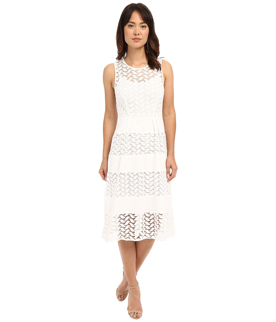 Shoshanna Monica Dress White Womens Dress
