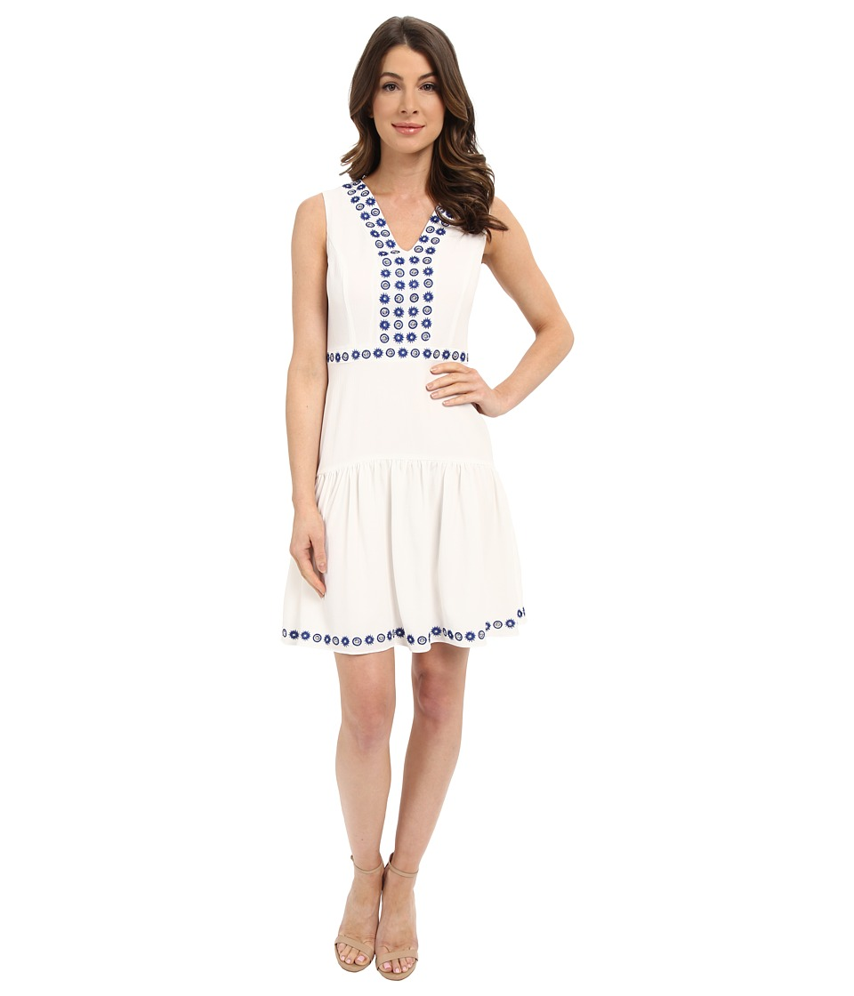 Shoshanna Isabel Dress White Womens Dress