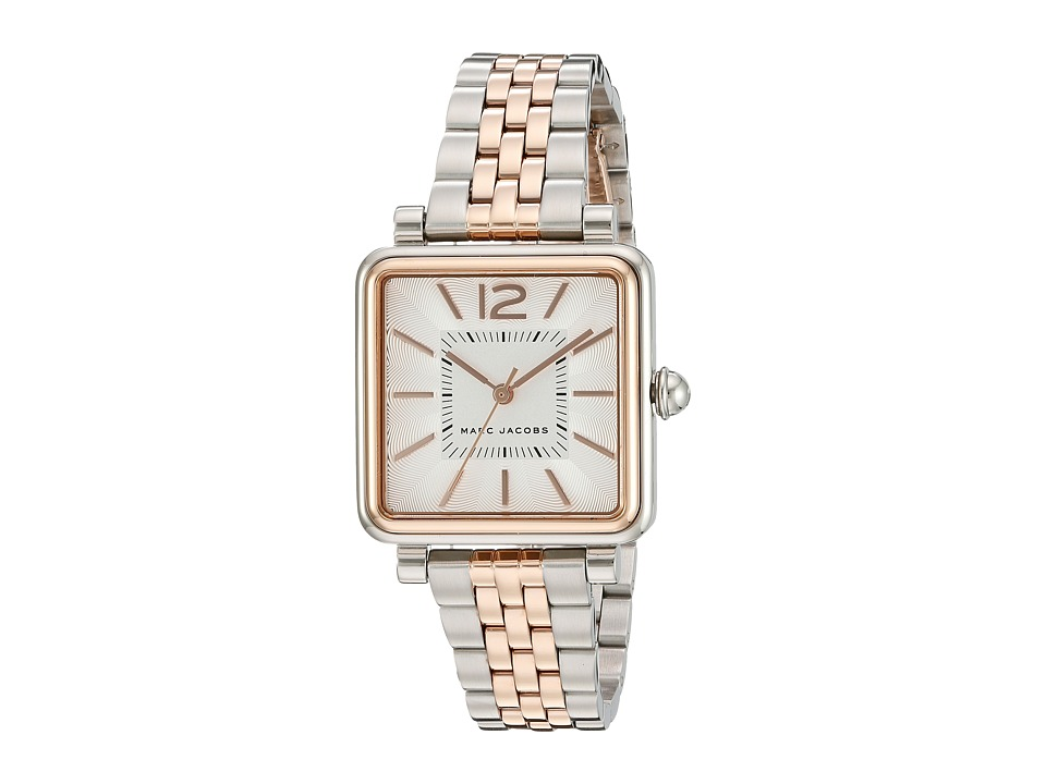 Marc Jacobs - Vic - MJ3463 (Two-Tone Stainless/Rose Gold Tone) Watches