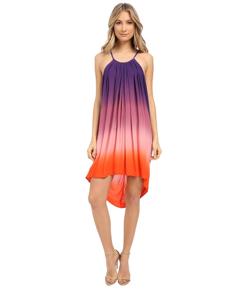 Young Fabulous amp Broke Adalade Dress Purple Ombre Womens Dress