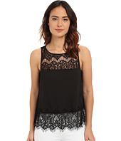 BB Dakota - Eunice Crepe De Chine Lace Top