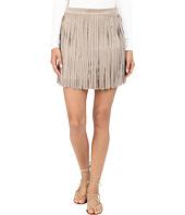 BB Dakota - Pearl Gaux Suede Fringe Skirt