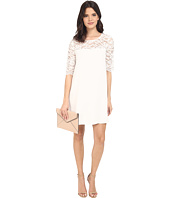 BB Dakota - Fisher Lace and Crepe De Chine Dress
