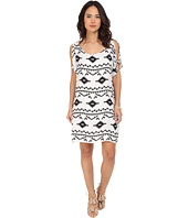 BB Dakota - Melody Symbol Printed Rayon Dress