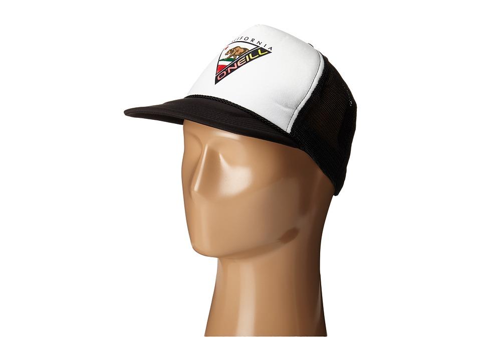 ONeill Status Trucker White/Brown Caps