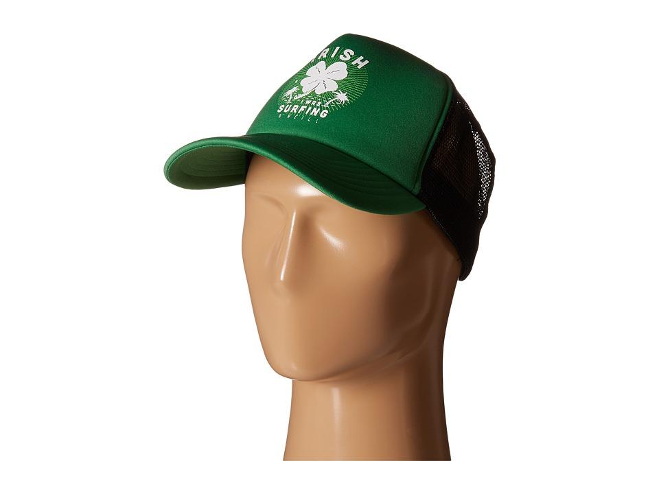 ONeill Hey Lad Trucker Green Caps