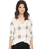 BB Dakota - Chandler Ryaon Twill Houndstooth Plaid Shirt
