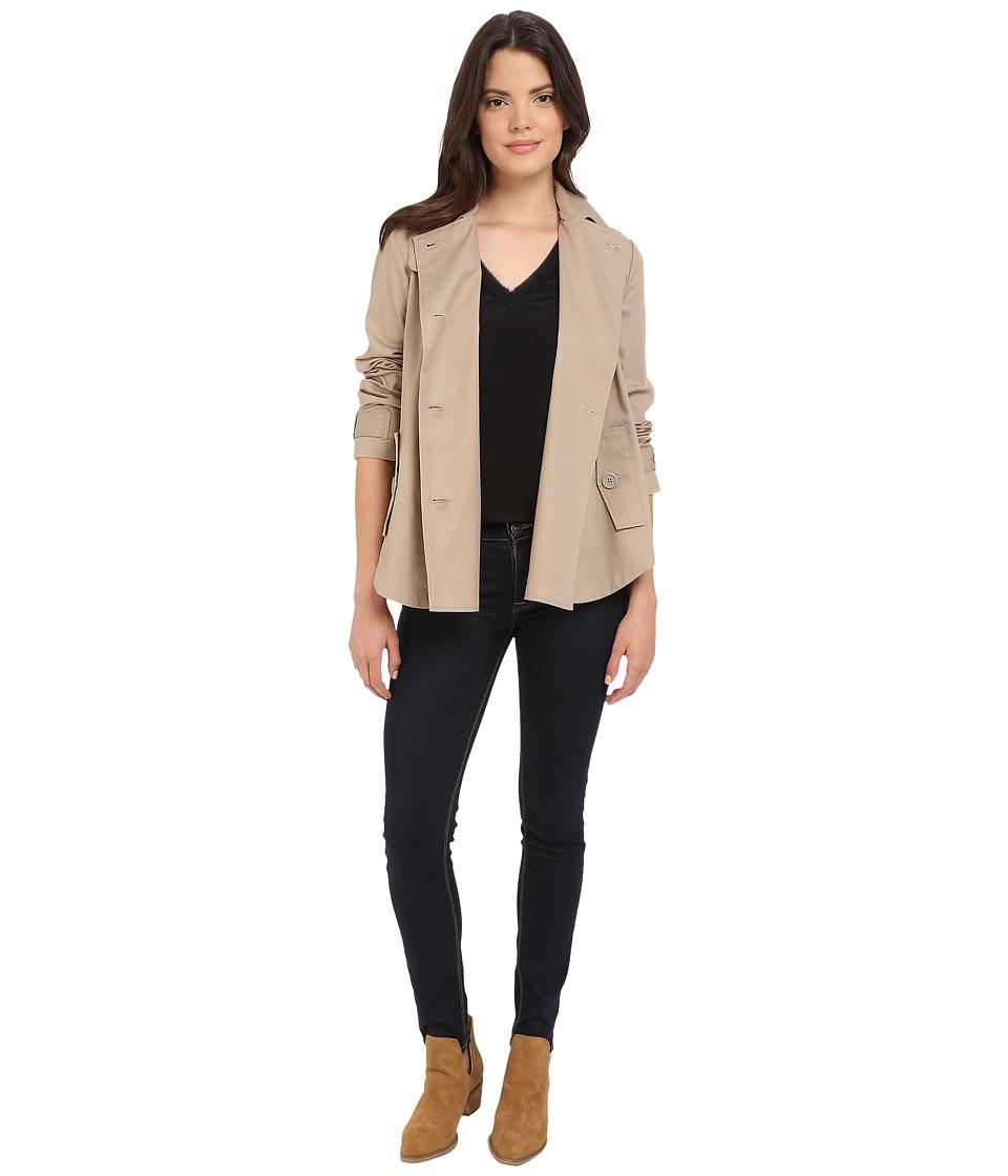 BB Dakota Ranae Trench Poncho Jacket Tan Womens Coat