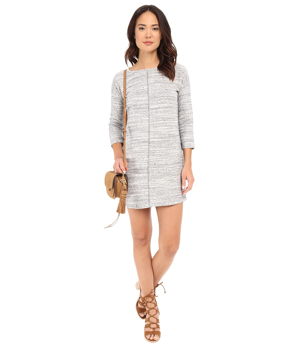 BB Dakota Boston Slub Knit Dress Grey Womens Dress