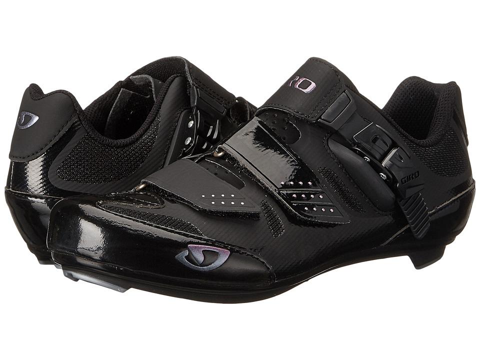 Giro Solara II Black Womens Cycling Shoes