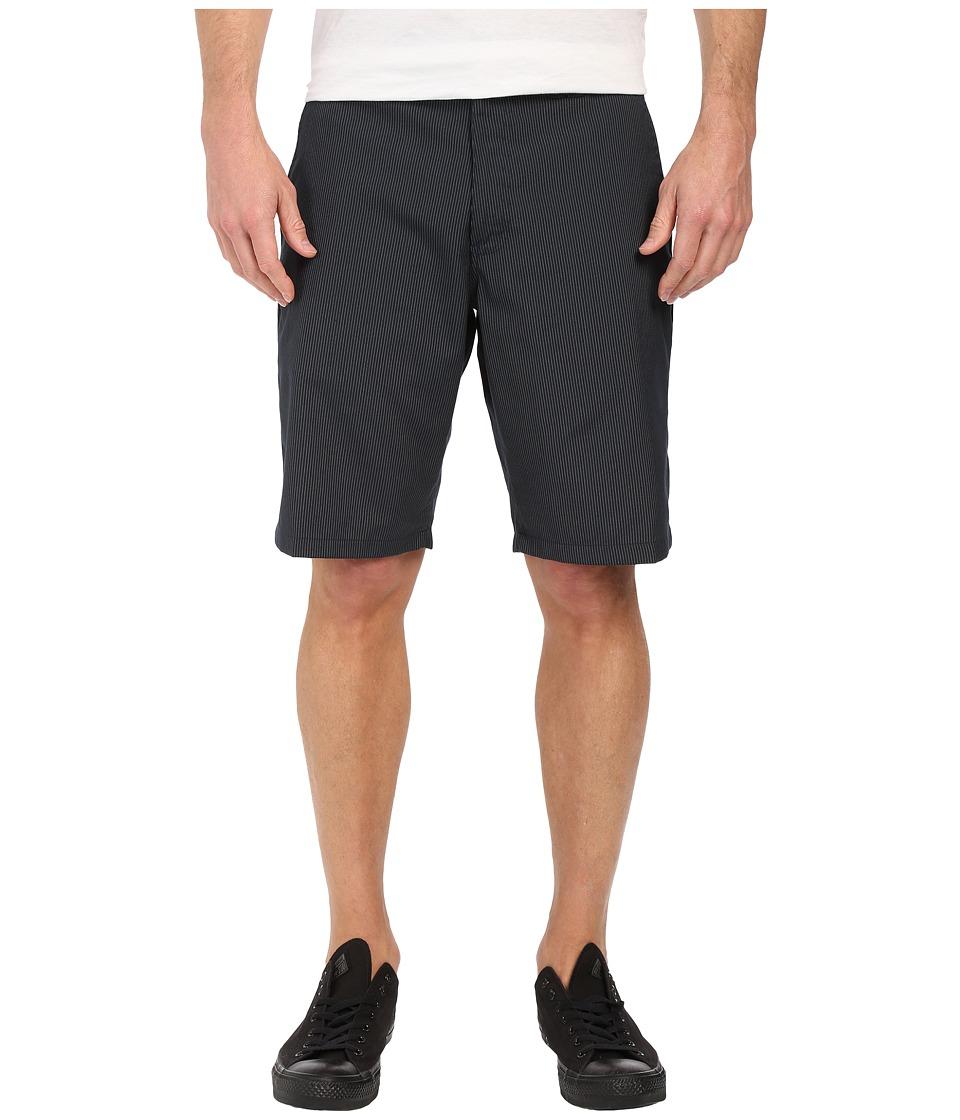 ONeill Delta Pinstripe Shorts Dark Navy Mens Shorts