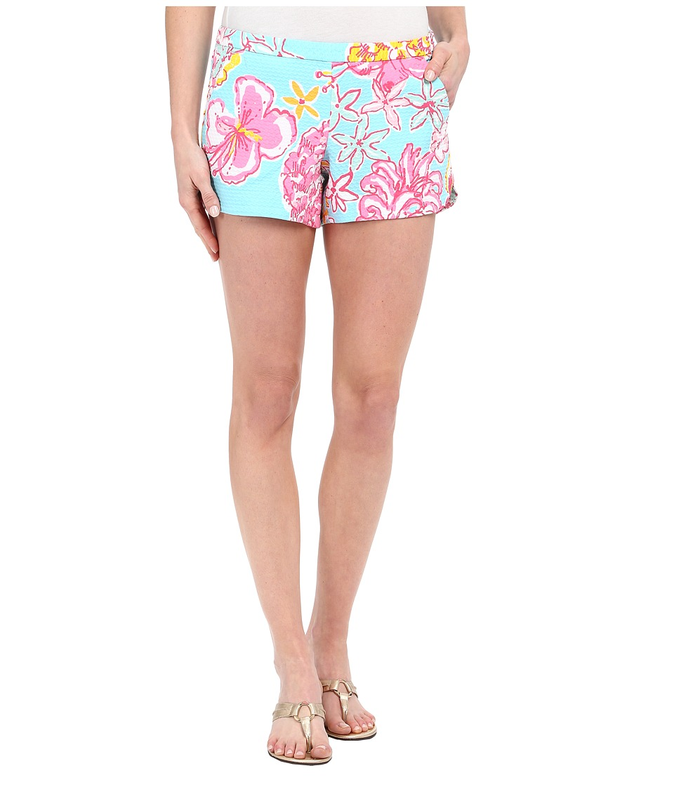 Lilly Pulitzer Adie Shorts Breakwater Blue Lolita Womens Shorts
