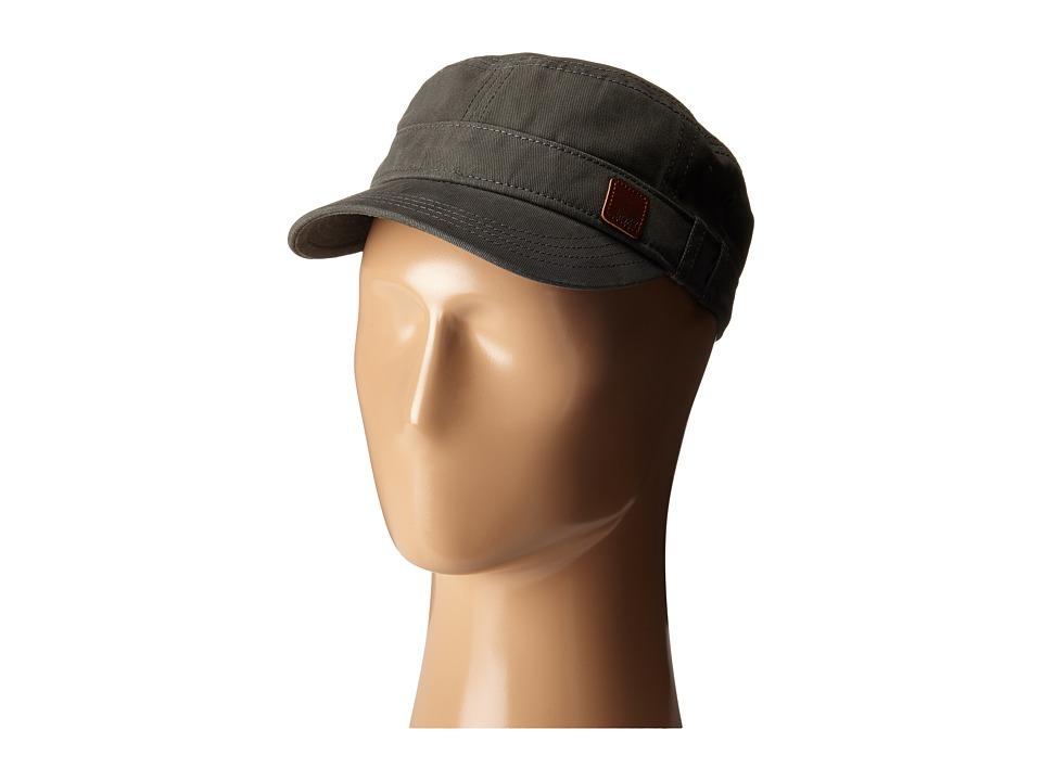 Roxy Castro Military Cap Dark Midnight Caps