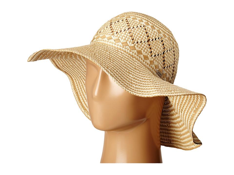Roxy Just Lucky Sun Hat Lark Fedora Hats