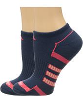 adidas - Climalite® II 2-Pack No Show Socks