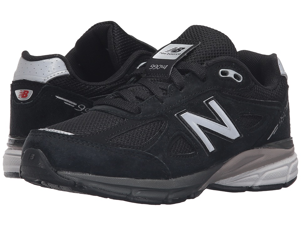 New Balance Kids - KJ990v4 (Little Kid) (Black/Black) Boys Shoes