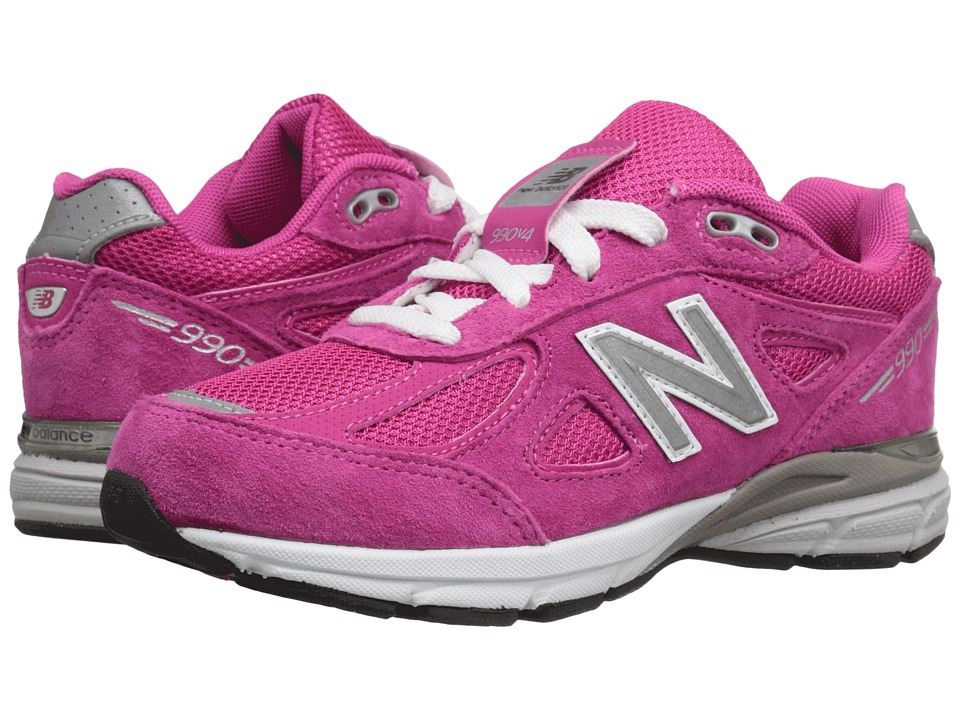 New Balance Kids KJ990v4 (Little Kid) (Pink/Pink) Girls Shoes
