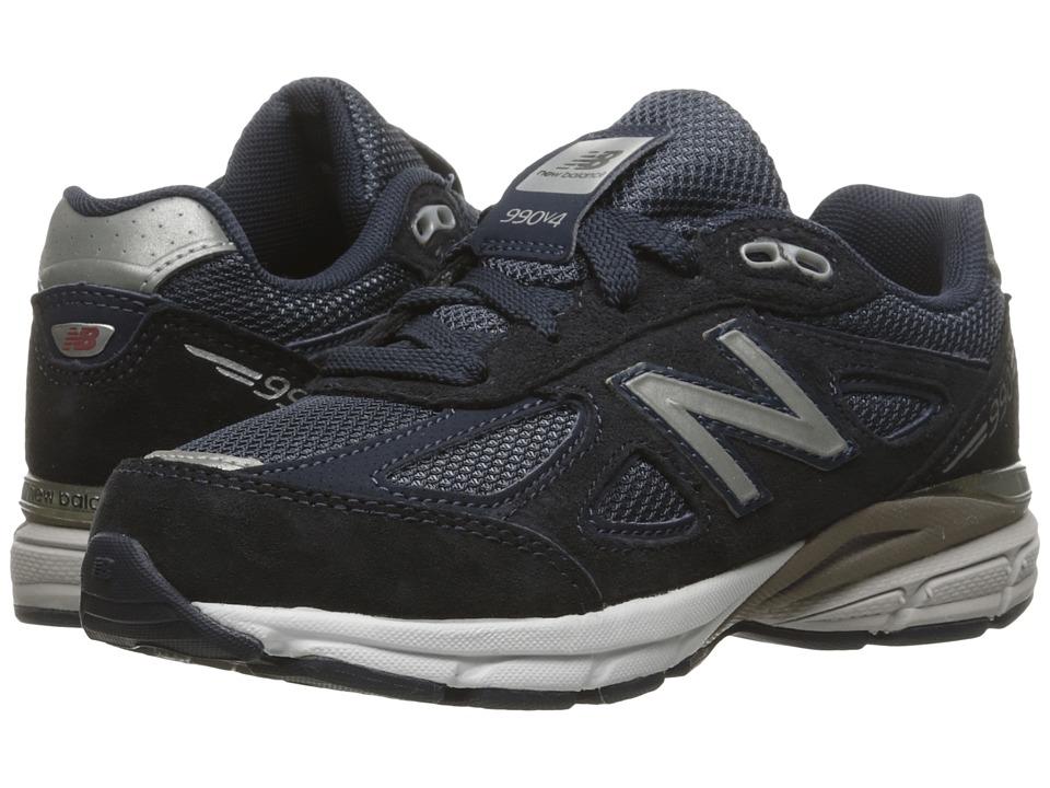 New Balance Kids KJ990v4 (Little Kid) (Navy/Navy) Boys Shoes