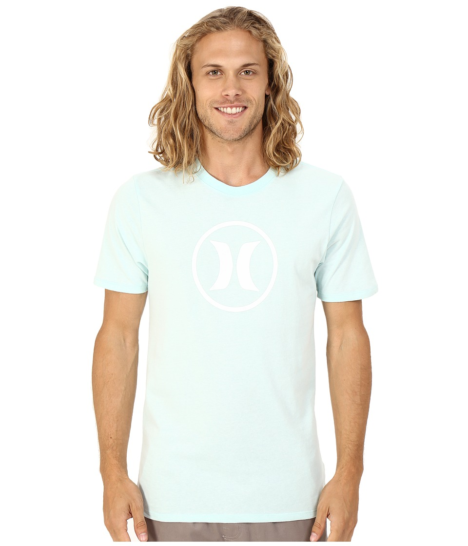 Hurley Circle Icon Dri Fit Tee Bermuda Green Mens T Shirt