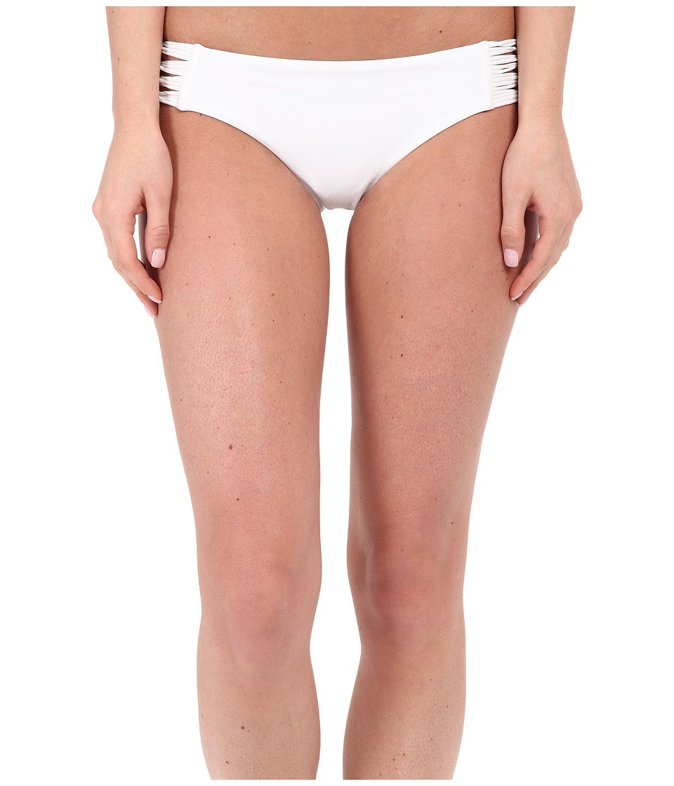 Body Glove Smoothies Ruby Low Rise Bottom (White) Women
