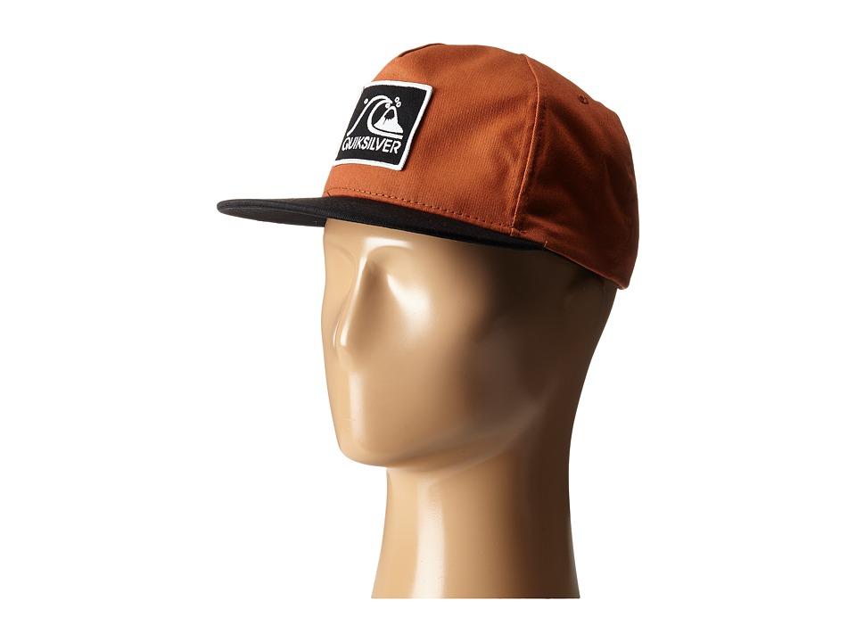 Quiksilver Graf Snapback Pumpkin Spice Baseball Caps