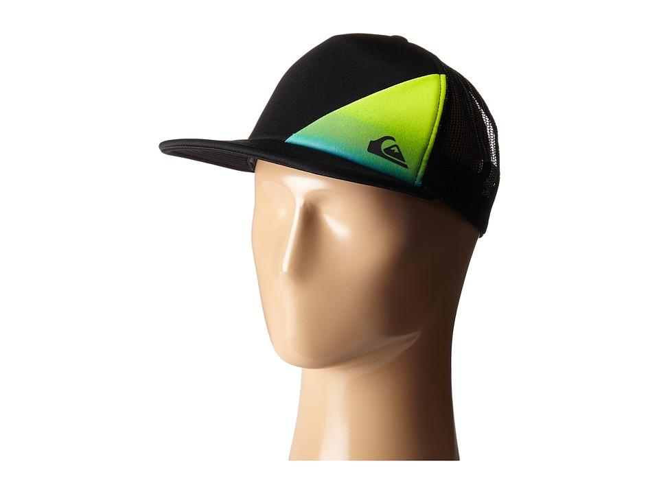 Quiksilver AG47 New Wave Trucker Hat Black Caps