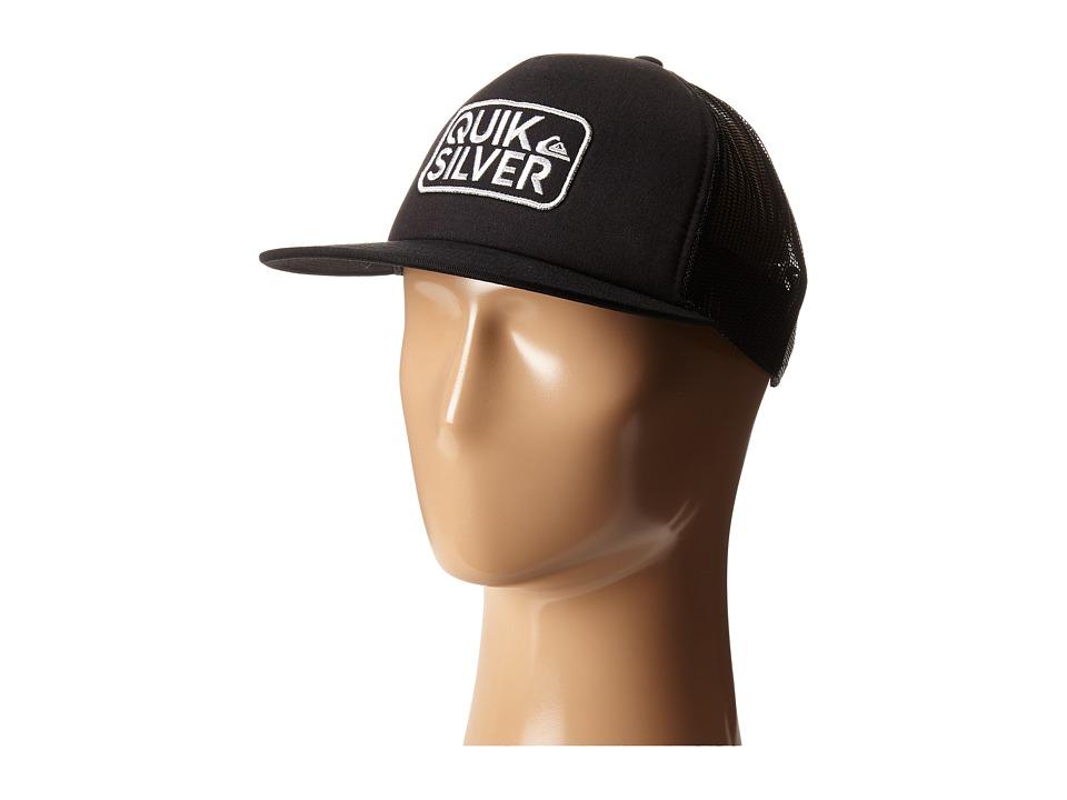 Quiksilver Barstay Trucker Hat Black Caps