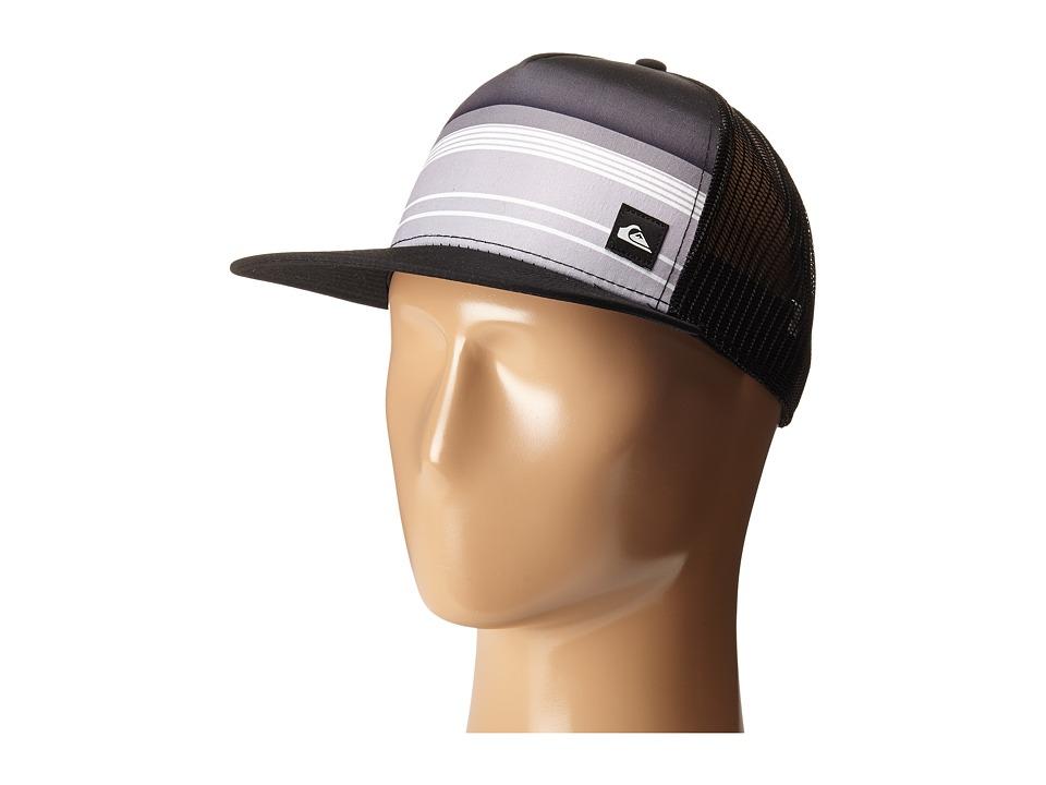 Quiksilver Everyday Stripe Trucker Black Caps